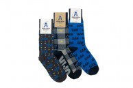 3 pack custom sock set