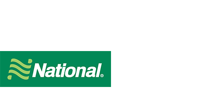 car rental logo national Akron Canton Airport